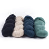 mYak Skeins 100% Baby Yak Midnight Blue Oatmeal Petrol Emerald