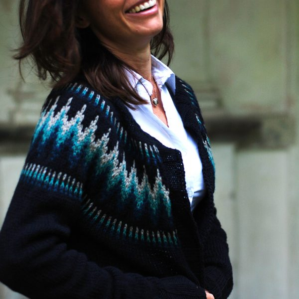 Throwback Sweater by Andrea Mowry