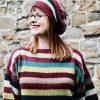 mYak Amoleto Hat & Amolo Sweater by Valentina Cosciani