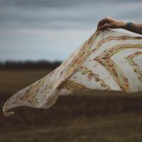 Birds Of Feather Shawl by Andrea Mowry
