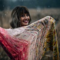 Find Your Fade Shawl by Andrea Mowry