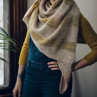 Satellite Shawl by Andrea Mowry