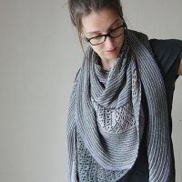The Miller's Daughter Shawl by Melanie Berg