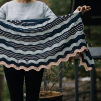Wildwood shawl by Andrea Mowry