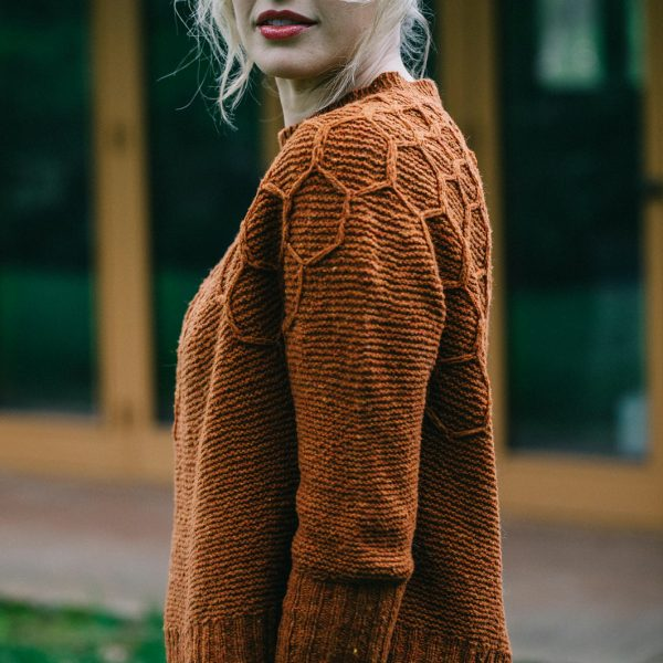 Wool and honey Sweater by Andrea Mowry