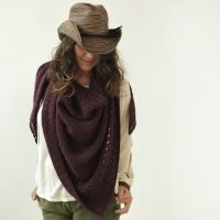 Cowboys and Angels Shawl by Isabell Kraemer