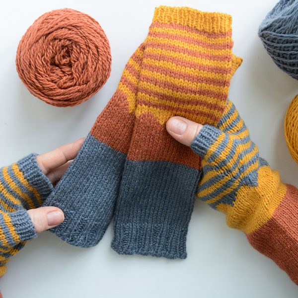mYak Mountain Hopper Mitts by Kirsten Kapur
