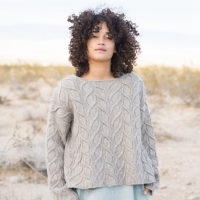 Shifting Sands Pullover by Norah Gaughan