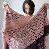 Together Apart Shawl by Melanie Berg