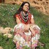 Calendula Shawl by Cecilia Losada