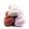 Tibetan Cloud Wool Skeins Wild Daisy Cannella Cherry Blossom