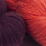 Burgundy / Saffron