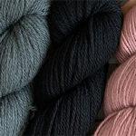 Tibetan Sky / Black / Dusty Pink